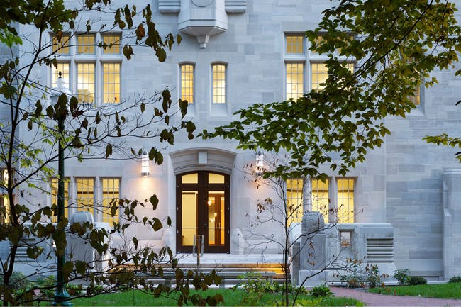 Simon Hall, Indiana University by Flad Architects. Photo © Flad Architects