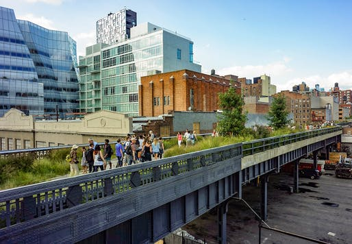 View of the High Line Park in New York City. Photo: Dan Nguyen/Wikimedia Commons.