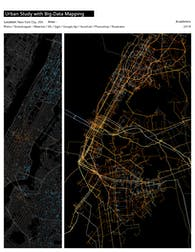 Urban Study with Big-Data Mapping
