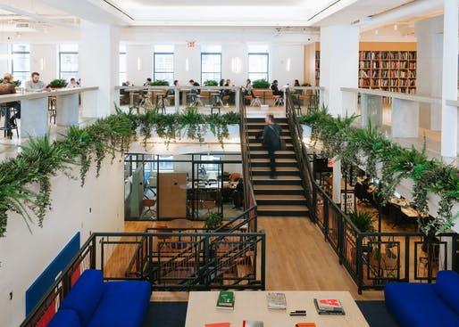 WeWork New York City HQ. Image: WeWork.