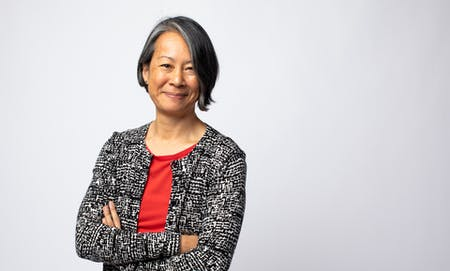 Renée Cheng, dean of the College of the Built Environment at the University of Washington. Image courtesy of Sean Airhart, NBBJ.
