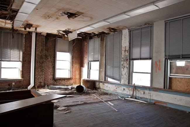 BEFORE: apartment interior, Bancroft School project. Photo credit: Kimberly Cadena.