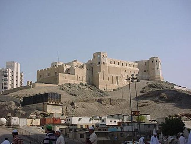 Built in 1780 and leveled in 2002, the Ottoman Ajyad Fortress is just one of many historic sites that are being destroyed and replaced by hotel towers, condo skyscrapers and parking lots. (Image via Wikipedia)