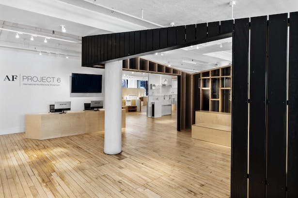 Project 6 Architectural Specification Showroom - New York