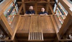 Glasgow School of Art unveils prototype of Mackintosh Library bay based on the original 1910 design