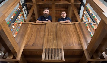 Glasgow School of Art unveils prototype of Mackintosh Library bay based on the original 1910 design