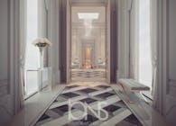 Regal Design Ideas for Palace Hallway