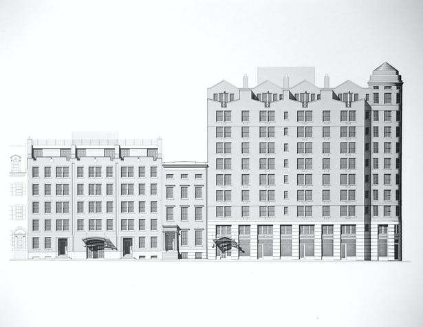 14 East 4th Street elevation