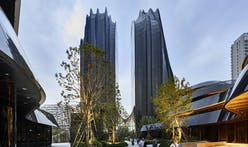 "MAD completes Chaoyang Park Plaza, dubbed as ""Beijing's Central Park"""