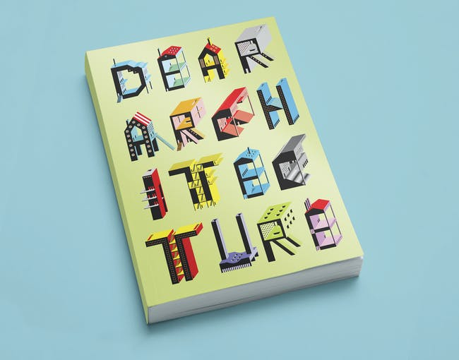 Blank Space's 'Dear Architecture' book. Cover art by Irena Gajic.