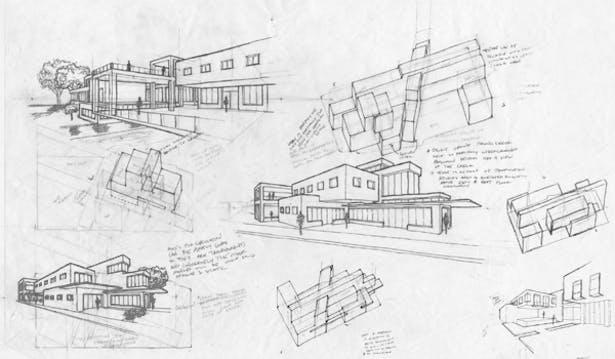 Design through Perspective Sketches