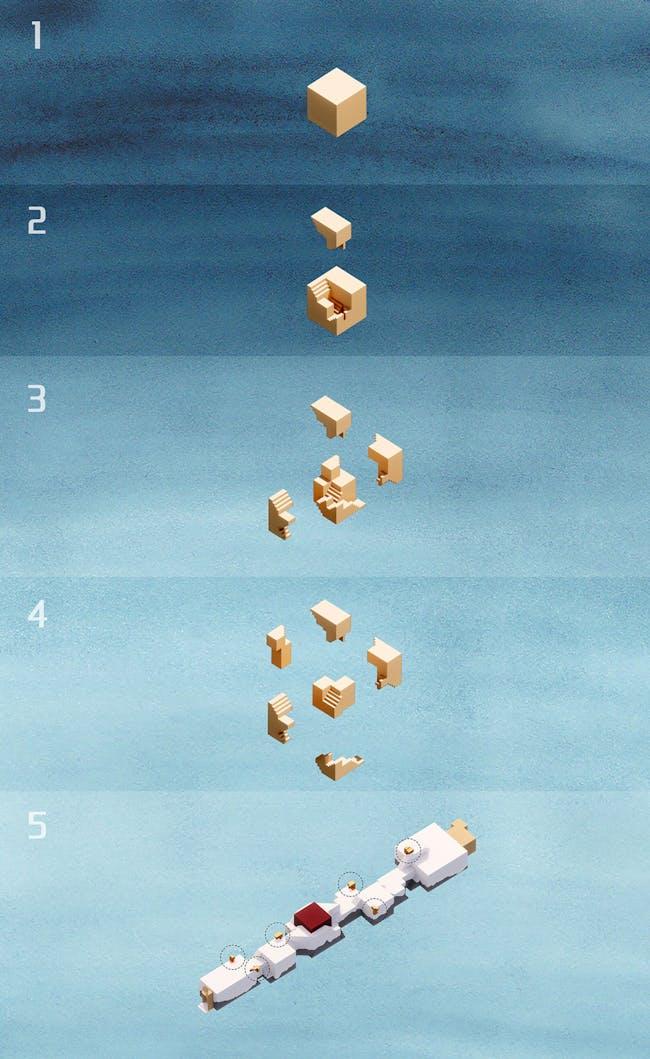 Diagram. Courtesy of One Take Architects.