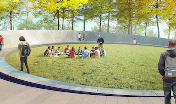 A decade in the making, UVA's Memorial to Enslaved Laborers begins to take shape