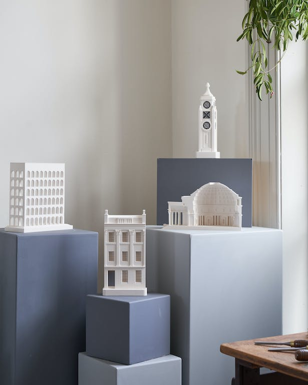 New architectural sculptures by Chisel & Mouse