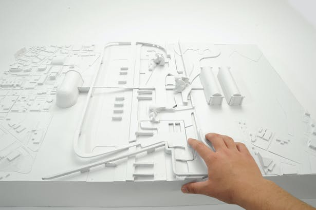 The Public City - early concept model