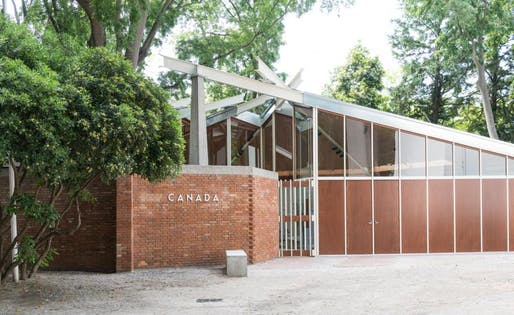 The Canada Pavilion. Photography: Andrea Pertoldeo.