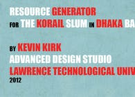 Resource Generator For the Korail Slum