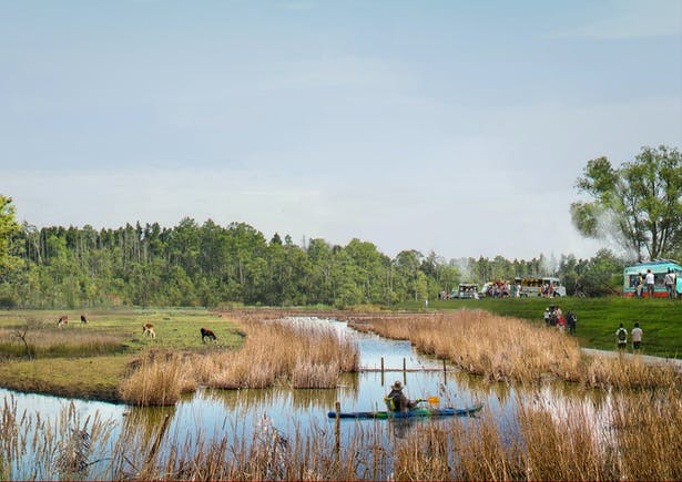 Hollandse Hout future: a varied forest area with recreation.