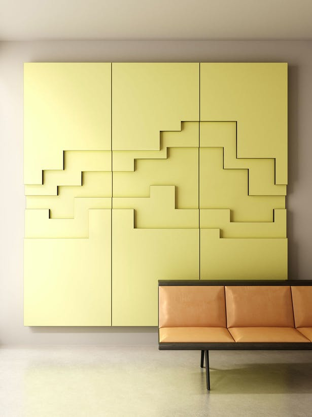 U-gami WOOD-SKIN Fold Panels