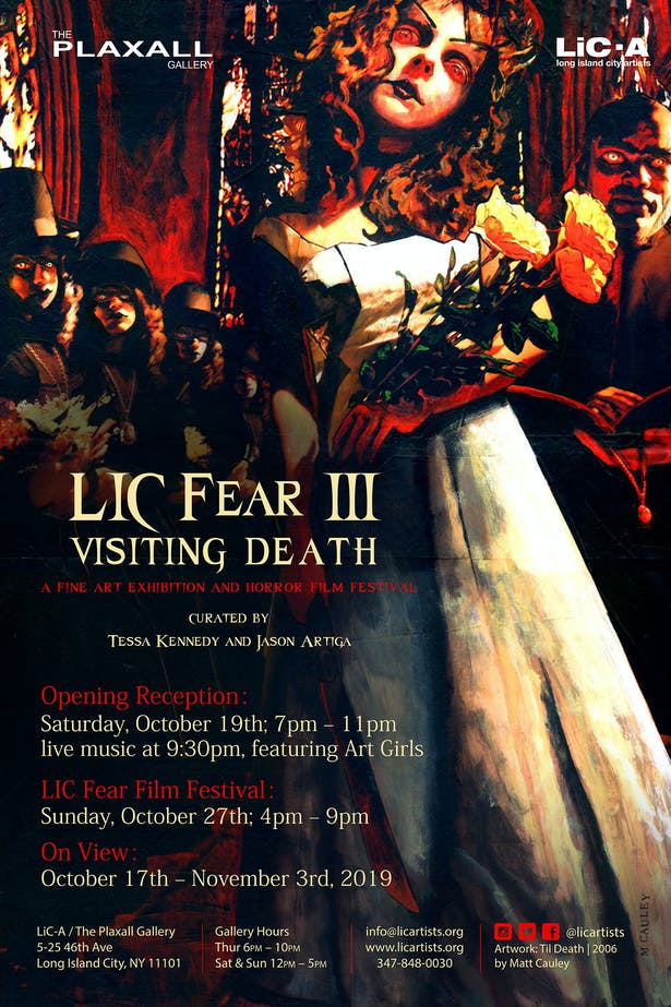 Lic Fear Poster