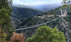 The World's Longest Pedestrian Bridge Opens In Portugal