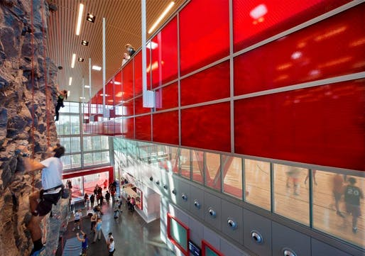 California State University, Northridge Student Recreation Center; Northridge, California by LPA, Incorporated. Photo credit: Costea Photography Inc