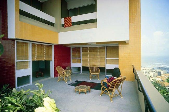 Kanchanjunga Apartments (1983), Mumbai, India (via Charles Correa Associates)