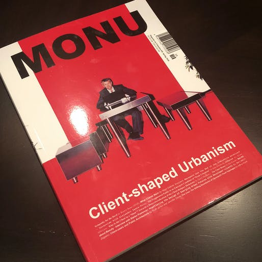 "MONU's 28th Issue, ""Client-shaped Urbanism"""