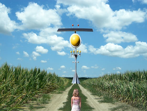 The Solar Corn Field Tower