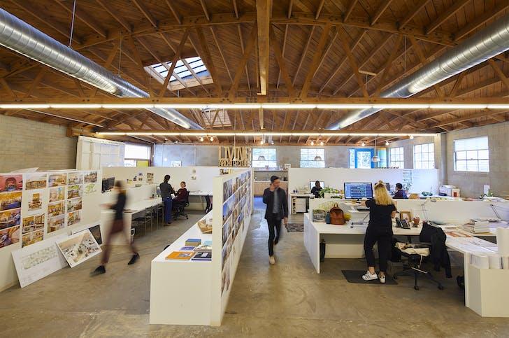 Bestor Architecture's staff at work, from Archinect's Studio Visits: Bestor Architecture feature. Photo courtesy of Yoshihiro Makino