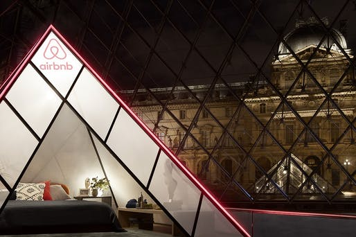 Airbnb x Louvre Image © Julian Abrams