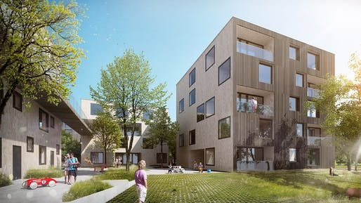 Concept for Green City Graz by CHYBIK+KRISTOF AA and BKK-3 (Image: CHYBIK+KRISTOF AA / BKK-3)