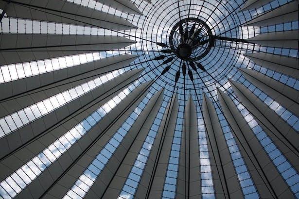 Berlin, Germany_Sony Center by Helmut Jahn