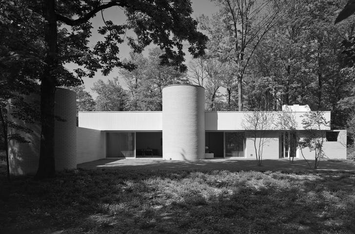Credit: Ezra Stoller via Richard Meier Architects