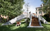 Zaha Hadid Architects and Block Research Group unveil world's first 3D-printed concrete footbridge built without any reinforcement