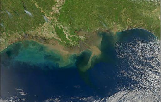 The Gulf of Mexico could sequester carbon soon, Image courtesy of Wikimedia user Norman Kuring.