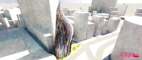 New Project | Tokyo Skyscraper Design Concept