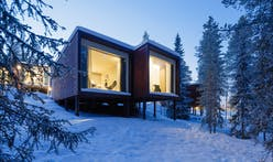 Studio Puisto's Arctic TreeHouse Hotel offers village style accommodation units