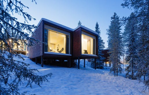 Arctic TreeHouse Hotel. All images via Studio Puisto
