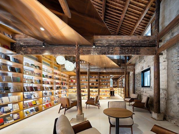 Coutyard Bookstore, photo: Wu Qingshan