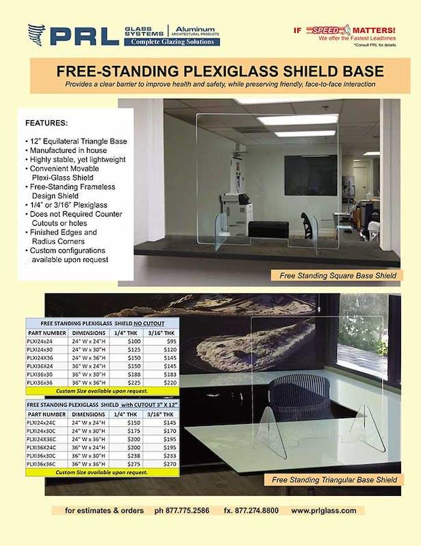 Plexiglass Protective Shields