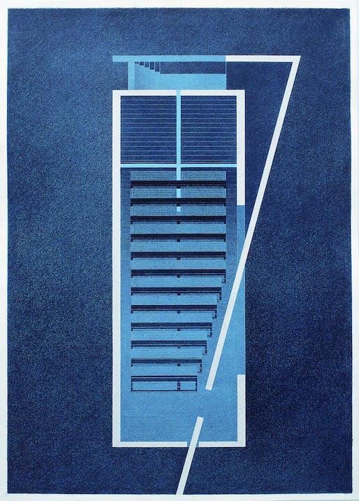 Drawing of Church of the Light, 1989. Photo © Tadao Ando Architect & Associates.