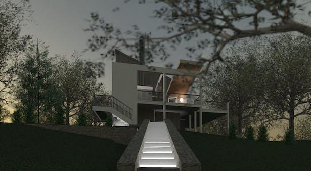 Brewster Cottage - Clifford O. Reid Architect