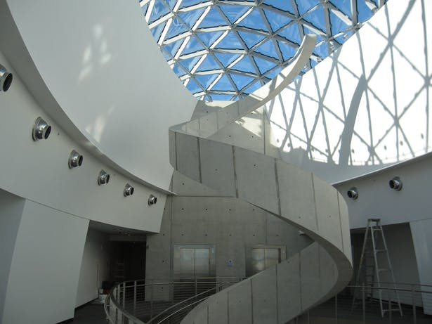 Stair and Skylight