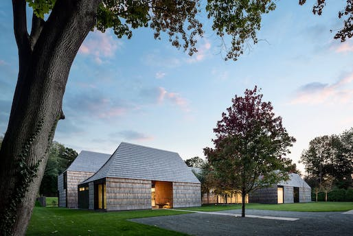 Underhill in Matinecock, New York by Bates Masi + Architects. Photo by Michael Moran.