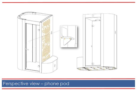 Working on highly customized and private phone pods and we're midst of an RFQ