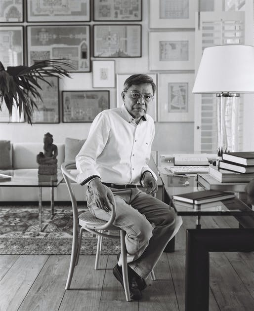 Ong-ard Satrabhandhu, 2020 Driehaus Prize laureate. Credit: Ong-ard Architects, photo via Wikipedia.