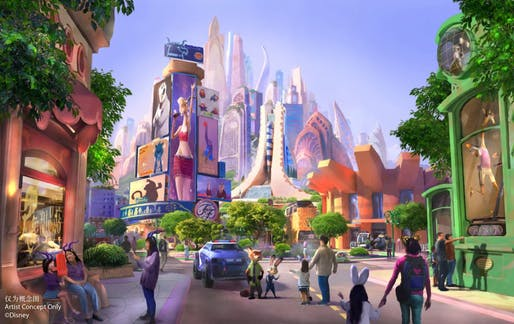 All renderings courtesy of Shanghai Disney Resort.