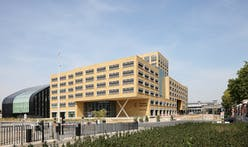 Flemish government's new home and largest passive office building in Brussels completes