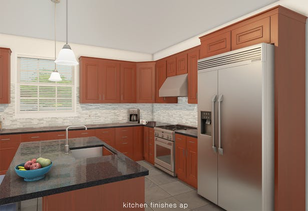 Kitchen finishes application